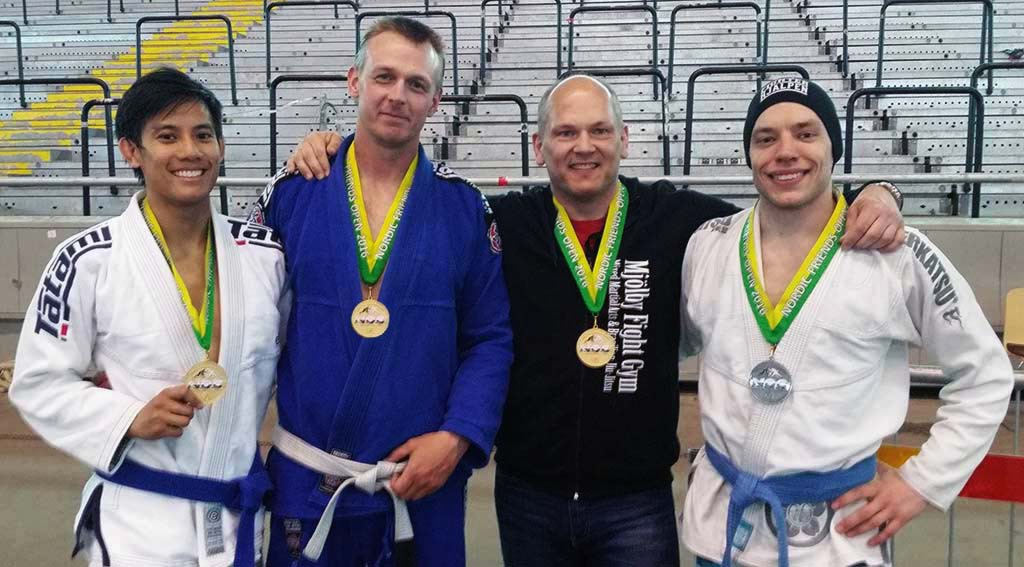 Mjölby Fight Gym 3 Guld 1 Silver